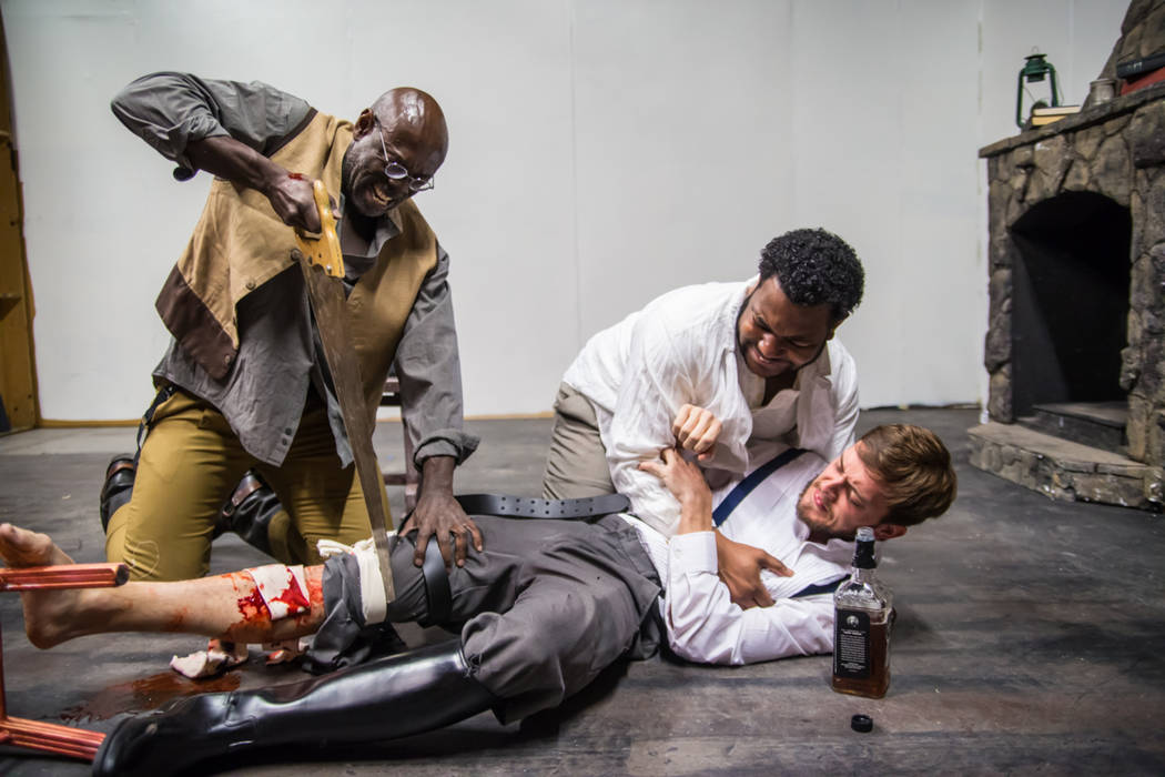"Las Vegas Little Theatre's production of ""The Whipping Man"" opens Friday. (Courtesy)"