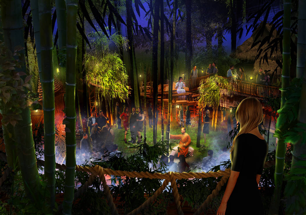 Part of Kind Heaven will feature a forested room and multiple music venues. The attraction opens at The Linq Hotel in 2019. Kind Heaven
