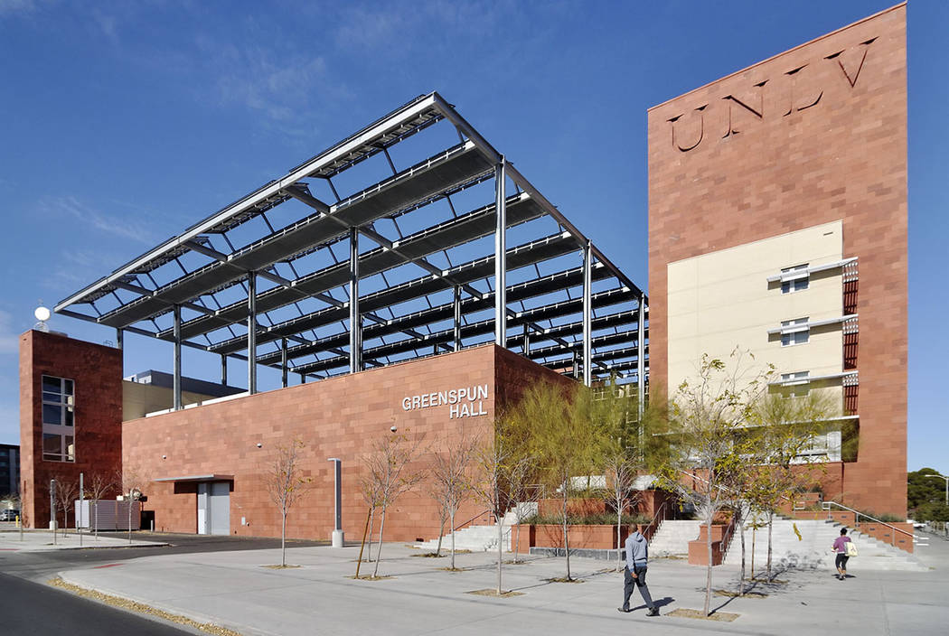 UNLV's Greenspun College of Urban Affairs, 4504 S. Maryland Parkway, Las Vegas (Las Vegas Review-Journal)