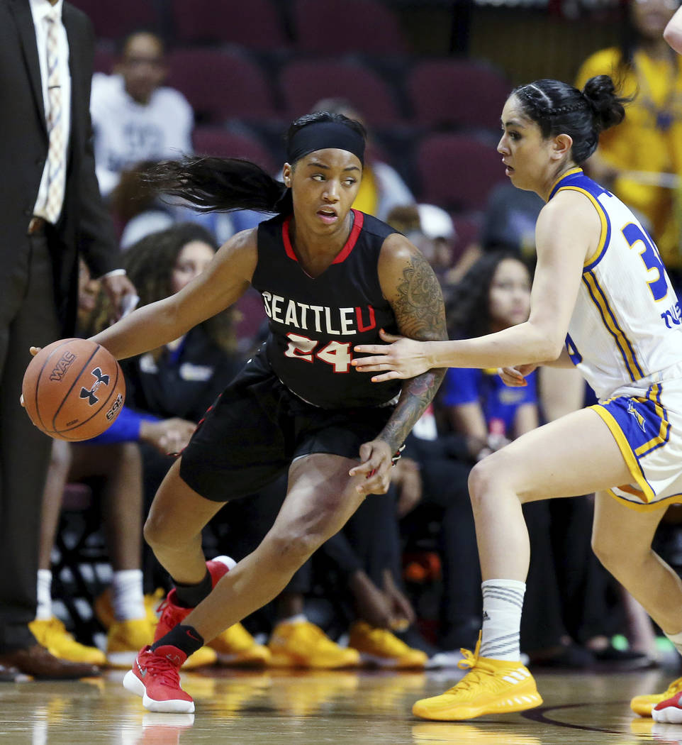 Seattle wins WAC women's title for first NCAA Tournament ...