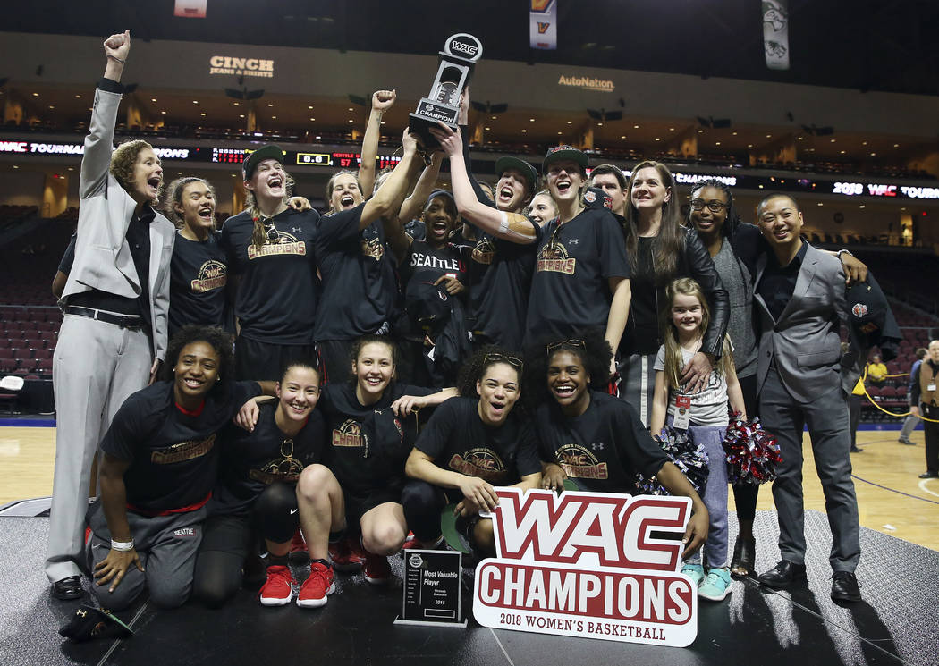 Seattle wins WAC women's title for first NCAA Tournament berth | Las Vegas Review-Journal