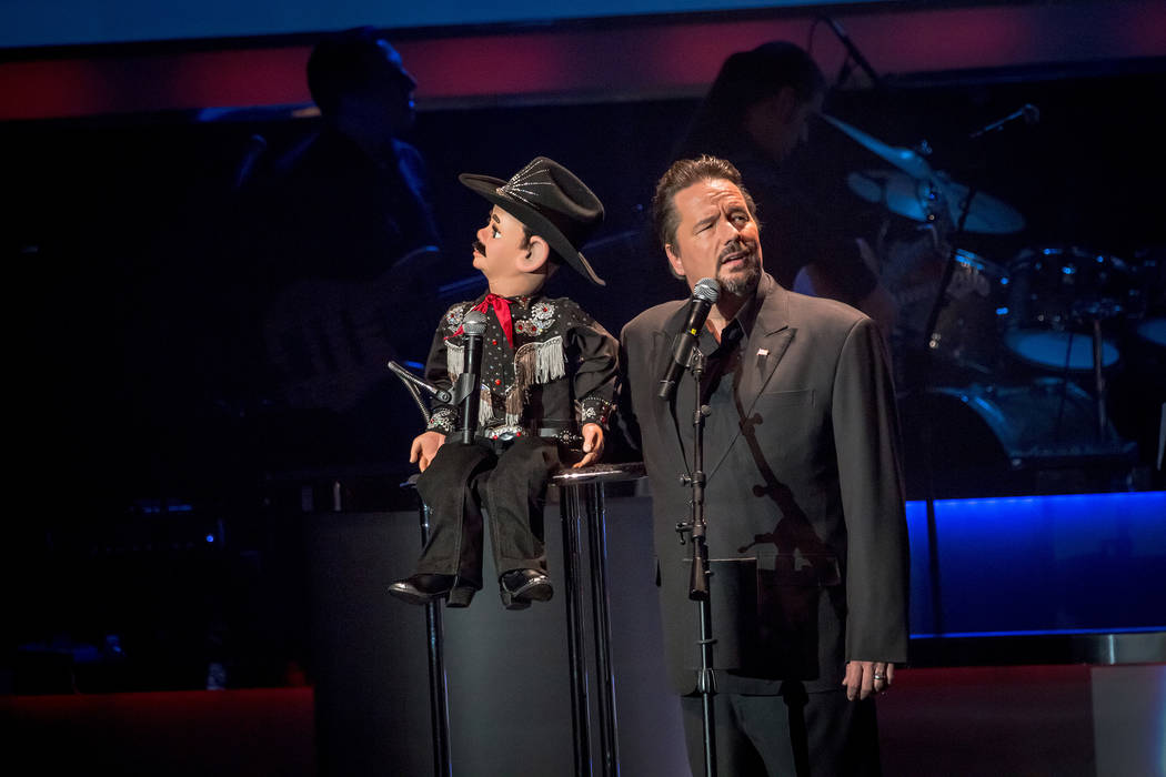 """Terry Fator: The Voice of Entertainment"" at The Mirage in Las Vegas. (Courtesy)"