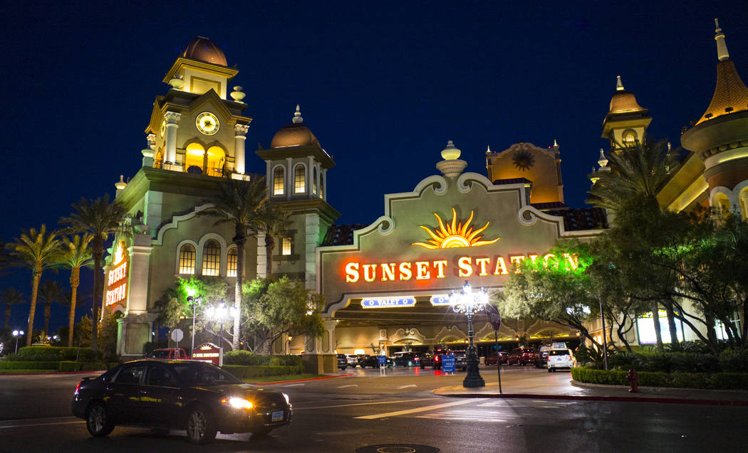 Sunset Station in Henderson on Wednesday, March 14, 2018. Henderson Constable Earl Mitchell withdrew $100 from an ATM at Sunset Station on Sunday, Nov. 19, 2017. Chase Stevens Las Vegas Review-Jou ...