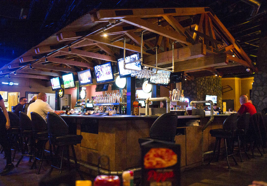 Timbers, a bar and grill that also offers video poker, in Henderson on Thursday, March 15, 2018. On Nov. 11, 2016, Henderson Constable Earl Mitchell withdrew $500 out of an ATM, and 19 minutes lat ...