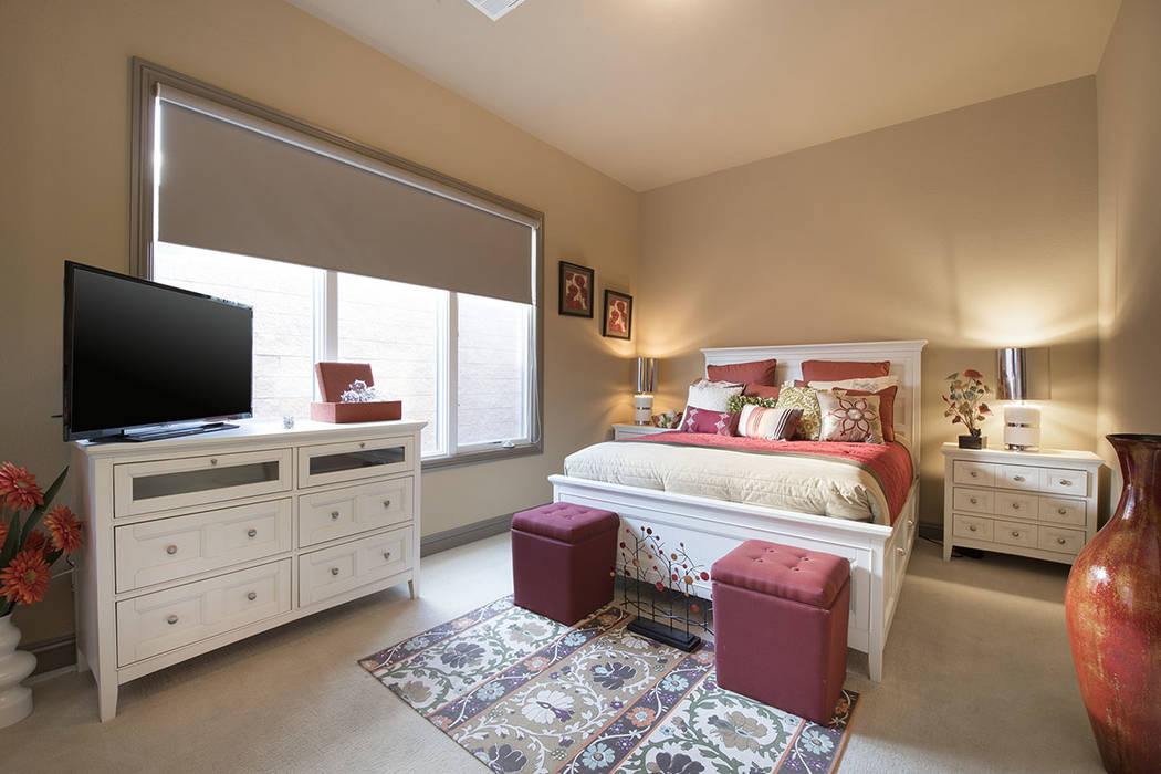 A second bedroom. (Synergy/Sotheby's International Realty)