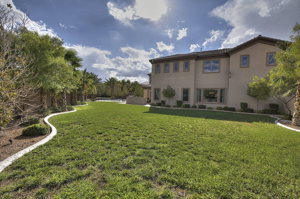 The property has lots of large grassy spaces. (Synergy/Sotheby's International Realty)