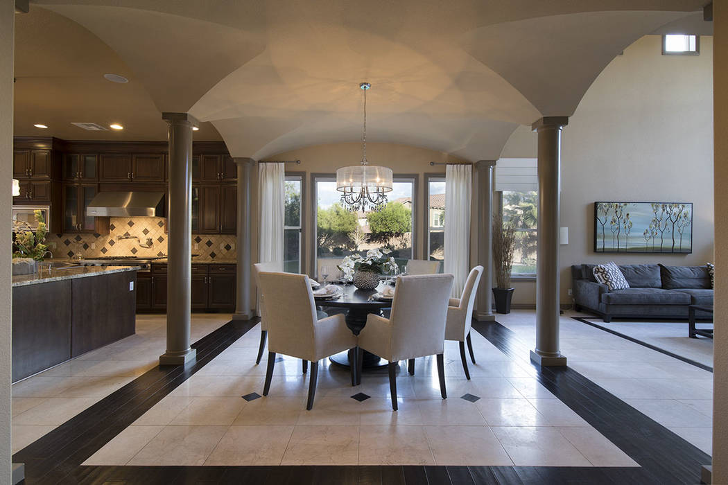 The dining room is off the kitchen. (Synergy/Sotheby's International Realty)
