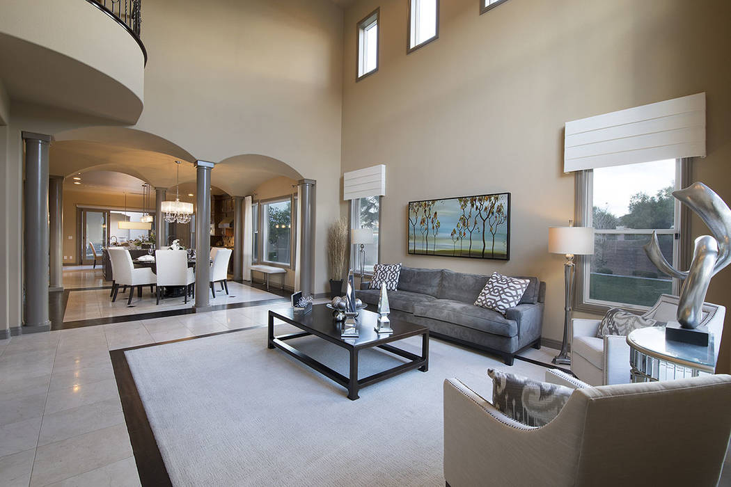 The family room is off the dining room. (Synergy/Sotheby's International Realty)