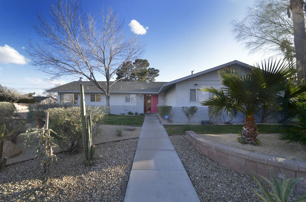 This home in the historic McNeil Estates, near Charleston and Rancho boulevards is also included in one of the Home + History Las Vegas tours. (Bill Hughes RJRealEstate.Vegas)