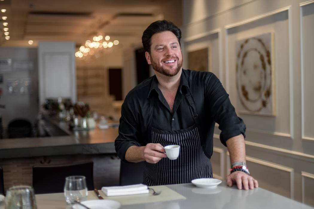 Scott Conant has set Feb. 16 as the official opening date for his Red Rock Resort eatery. Ken Goodman