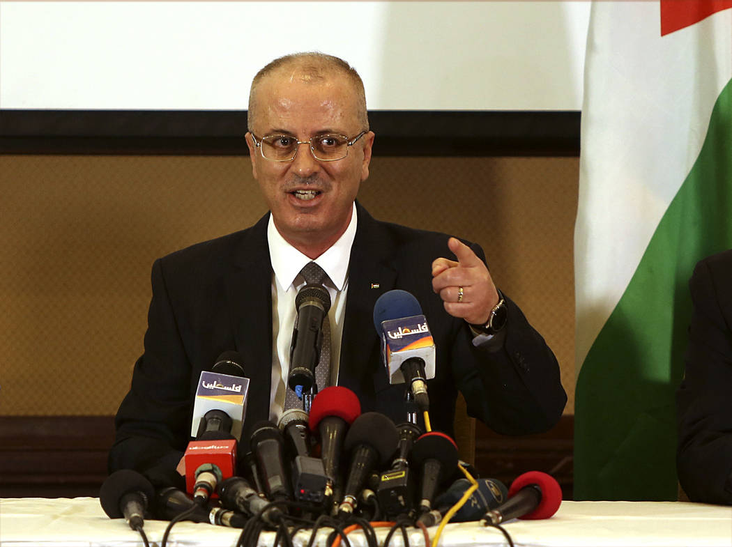 Prime minister returns to Ramallah says assassination attempt well prepared