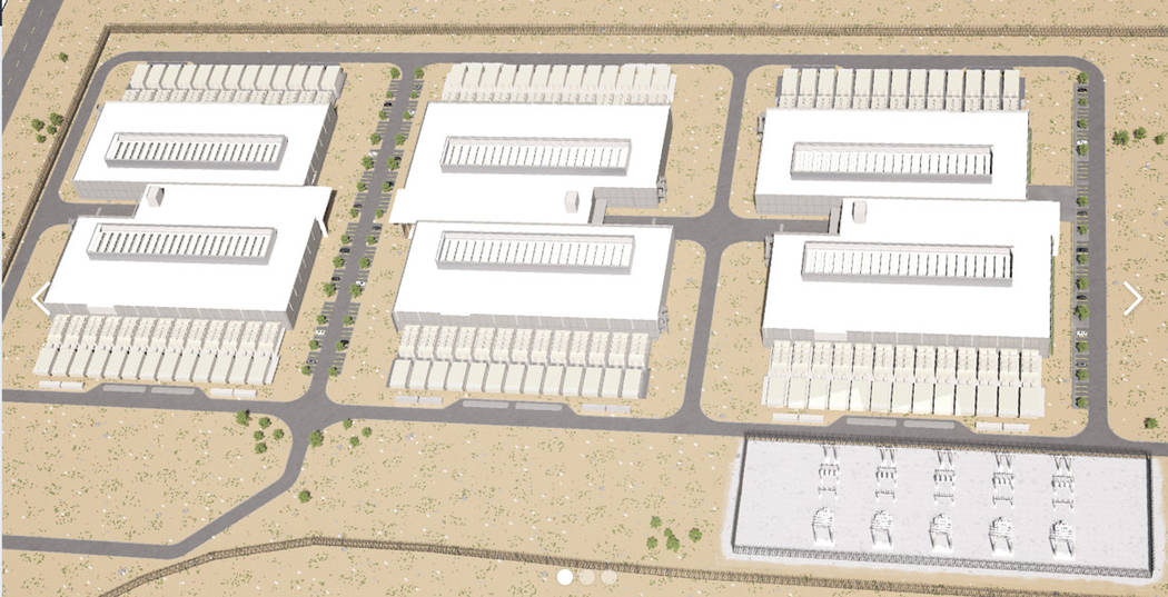 EdgeCore is planning to build a 1.1 million square foot data center facility in the Tahoe Reno Industrial Center if granted tax abatements Thursday by the Governor's Office of Economic Development ...