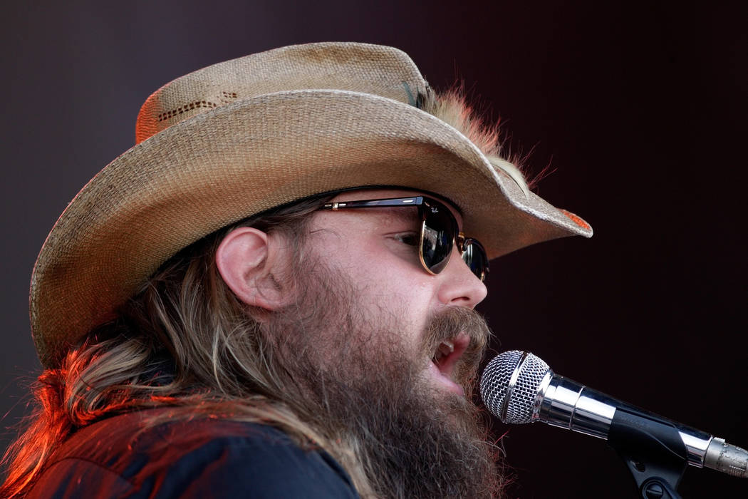 Chris Stapleton performs at the Bonnaroo Music and Arts Festival on Saturday, June 11, 2016, in Manchester, Tenn. (Photo by Wade Payne/Invision/AP)