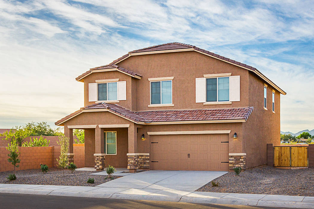 Texas-based LGI Homes has entered the Las Vegas market, offering homes priced in the low $200,000. (LGI Homes)