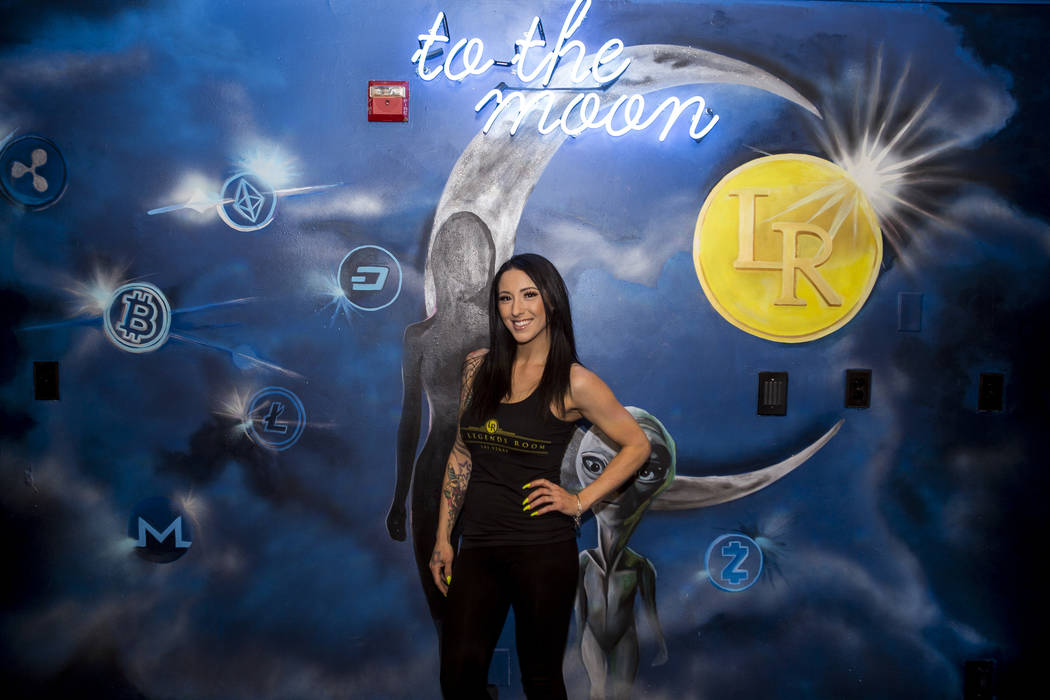 Bartender Deianna Lo at the Legends Room in Las Vegas on Wednesday, March 21, 2018. Patrick Connolly Las Vegas Review-Journal @PConnPie