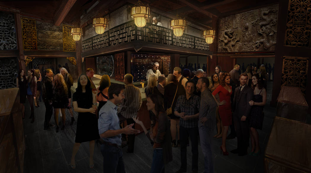 A look at the Dispensary at Kind Heaven, an entertainment and restaurant attraction with a Southeast Asia theme opening in August 2019 at the Linq. (Kind Heaven)