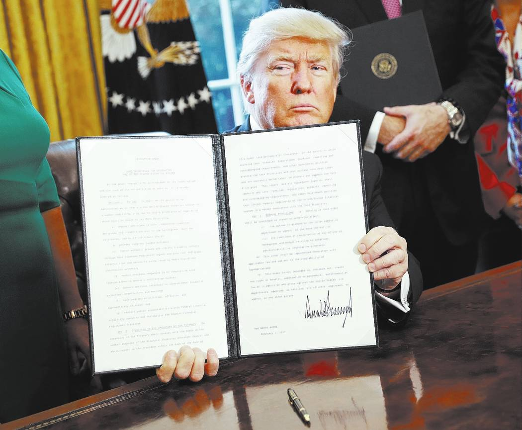 President Donald Trump. (AP Photo/Pablo Martinez Monsivais)