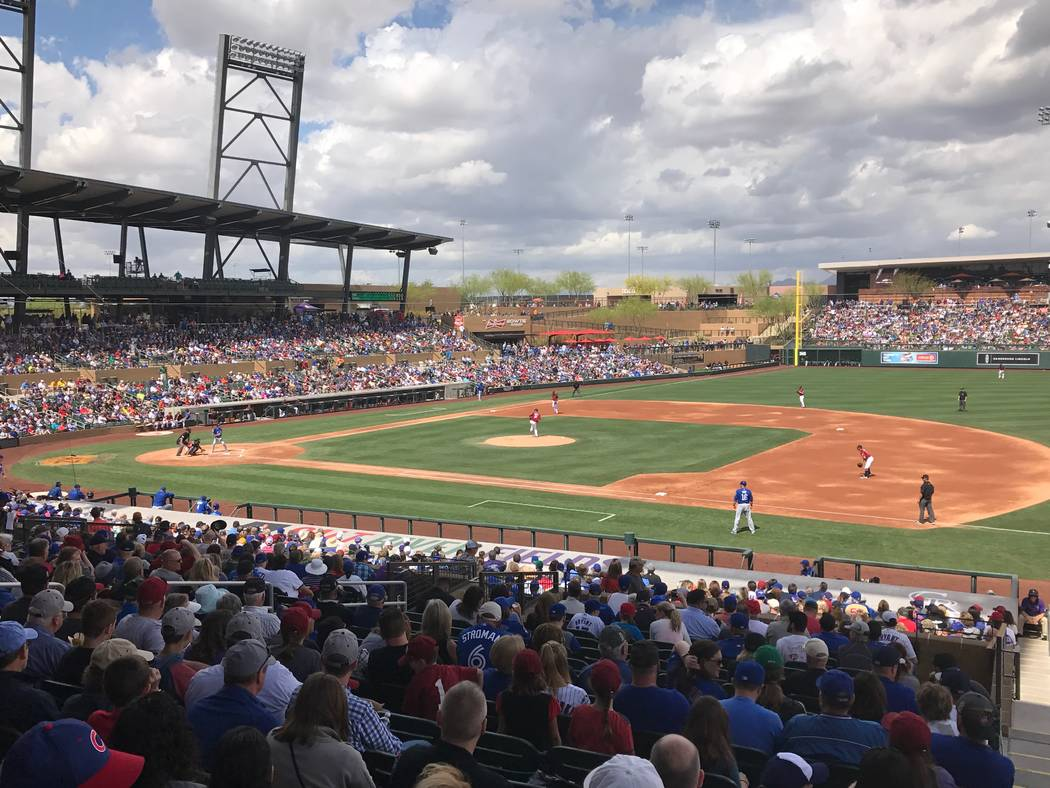 Salt River Fields in Arizona. Bill Bradley Las Vegas Review-Journal