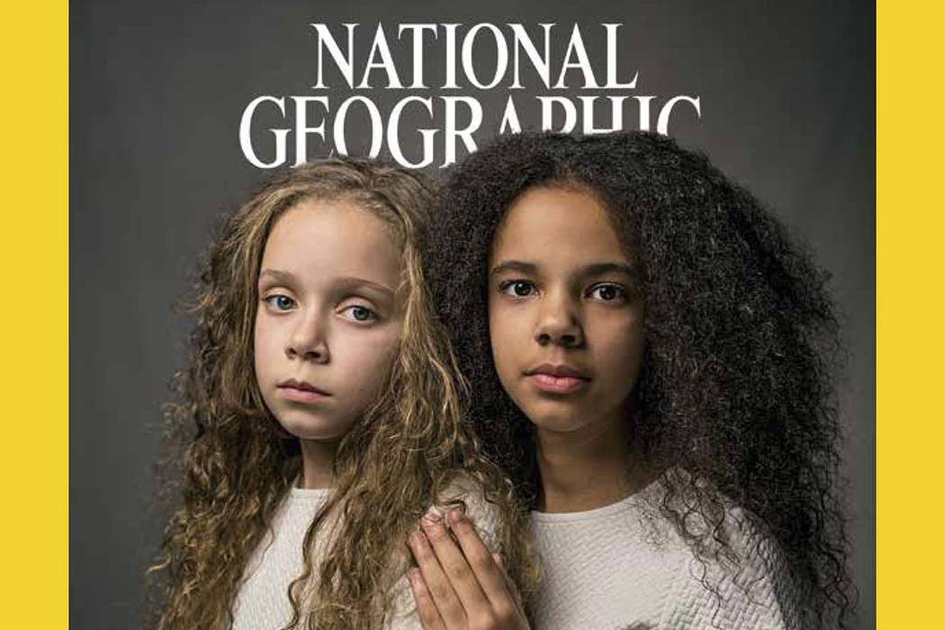 National Geographic tackles the issue of race and owns up to what it calls its racist past in the April 2018 issue of the magazine. (National Geographic via AP)