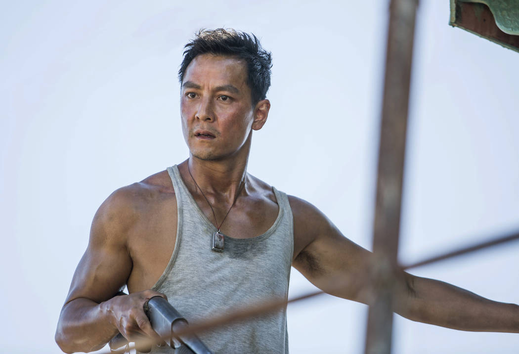 "This image released by Warner Bros. Pictures shows Daniel Wu in a scene from ""Tomb Raider."" (Ilze Kitshoff/Warner Bros. Pictures via AP)"