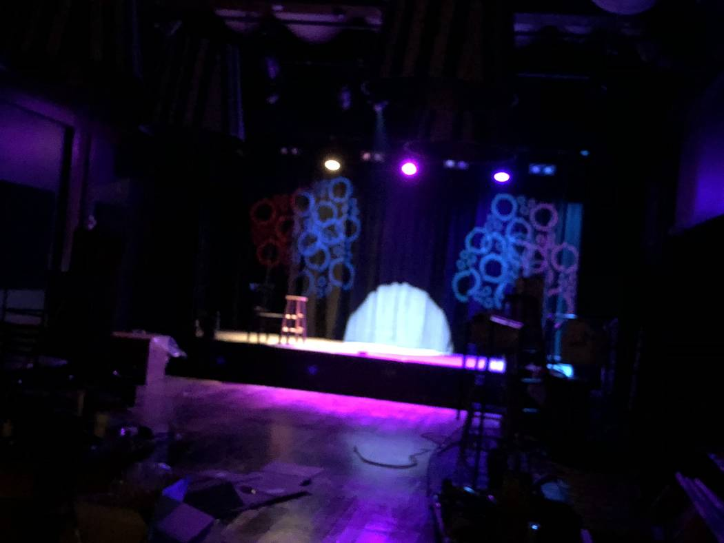 An interior shot of the House of Tape on Wednesday, March 14, 2018 (John Katsilometes/Las Vegas Review-Journal) @JohnnyKats