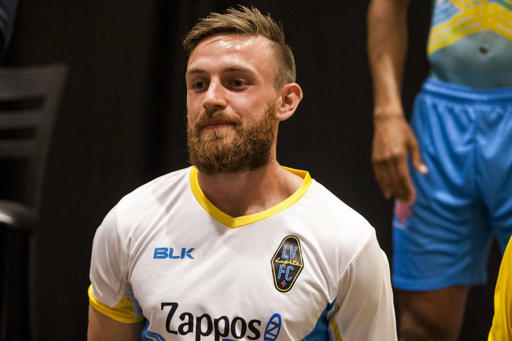 Las Vegas Lights FC defender Zak Drake (2). (Patrick Connolly Las Vegas Review-Journal @PConnPie) *Age: 26 *Hometown: Ottawa, Canada *Previous Club/Team: FC Maia (Portugal) *Notable: Has also play ...