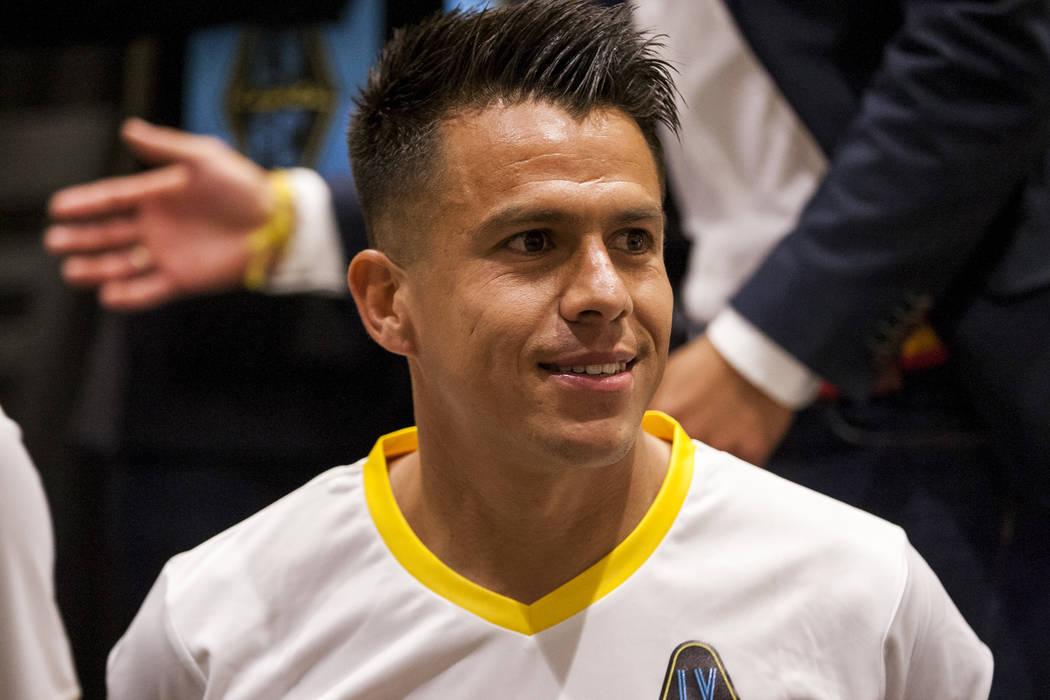 Las Vegas Lights FC defender Marcelo Alatorre (16). (Patrick Connolly Las Vegas Review-Journal @PConnPie) *Age: 33 *Hometown: Guadalajara, Mexico *Previous Club/Team: Venados FC (Mexico 2nd divisi ...