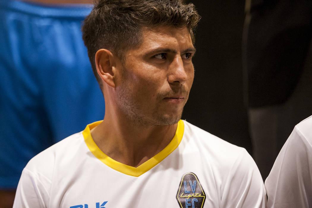 Las Vegas Lights FC midfielder Juan Jose Calderon (10). (Patrick Connolly Las Vegas Review-Journal @PConnPie) *Age: 27 *Hometown: Tlajomulco de Zuniga, Mexico *Previous Club/Team: Venados FC (Mexi ...