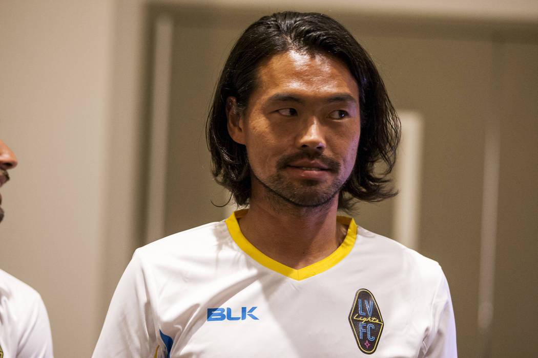Las Vegas Lights FC midfielder Daigo Kobayashi (44). (Patrick Connolly Las Vegas Review-Journal @PConnPie) *Age: 35 *Hometown: Fuji, Japan *Previous Club/Team: New England Revolution (MLS) *Notabl ...
