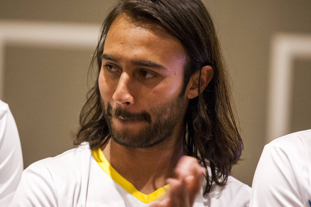 Las Vegas Lights FC forward Isaac Diaz (8). (Patrick Connolly Las Vegas Review-Journal @PConnPie) *Age: 25 *Hometown: Guadalajara, Mexico *Previous Club/Team: Mineros de Zacatecas (Mexico's 2nd  ...
