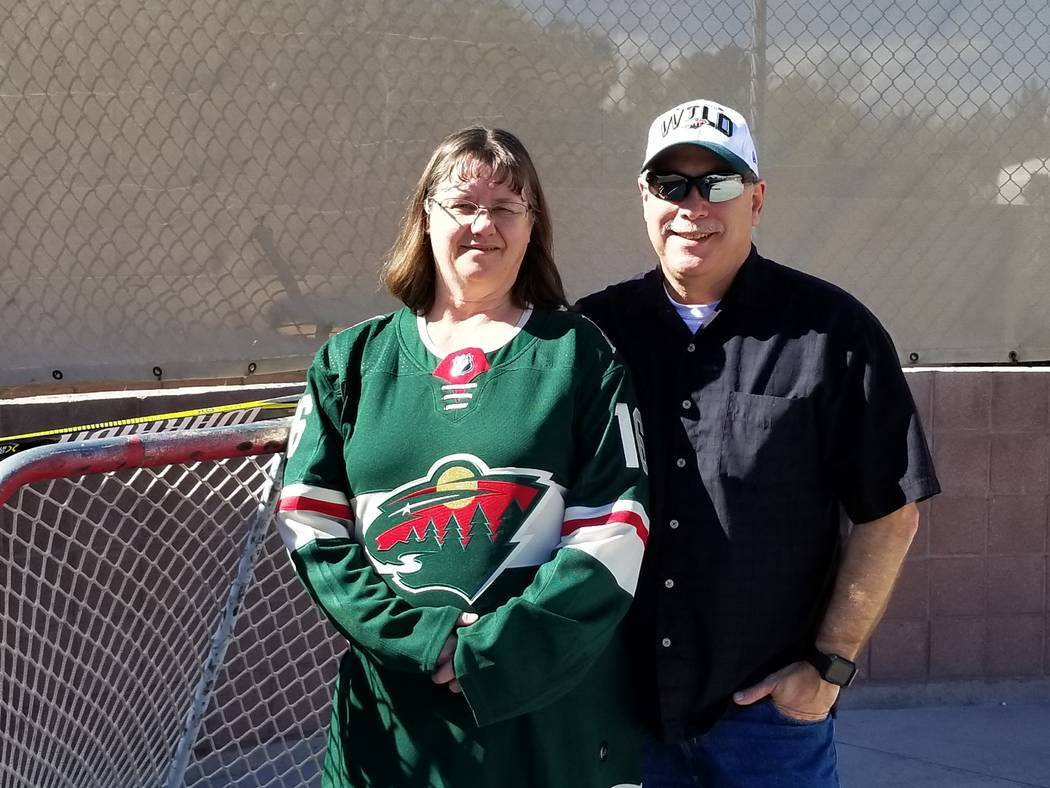 Zucker Family Enjoys Homecoming As Son Faces Golden Knights Las