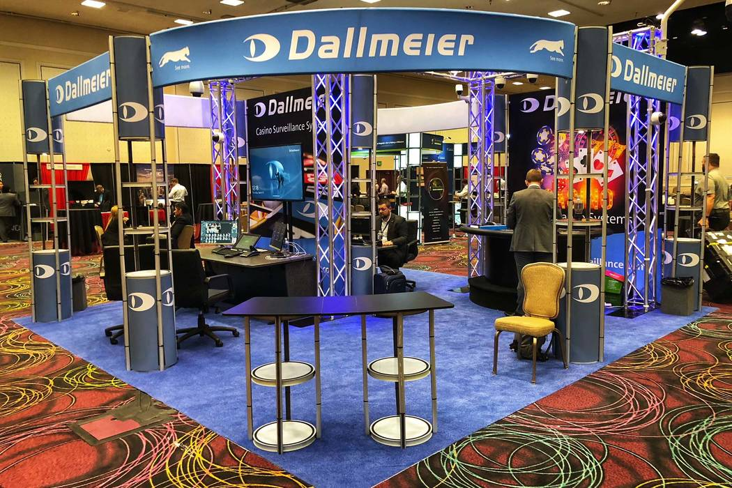 Dallmeier, a supplier of video surveillance systems, exhibited at World Game Protection Conference at Bally's. (Todd Prince Review-Journal)