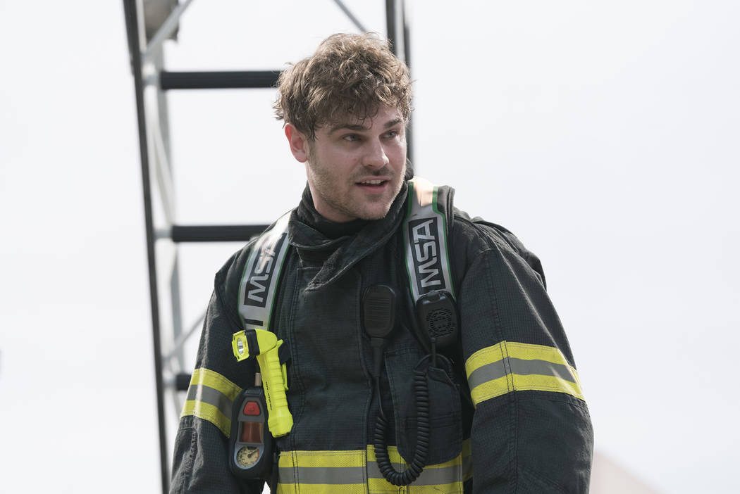 "Grey Damon in ""Station 19."" (ABC/Mitch Haaseth)"