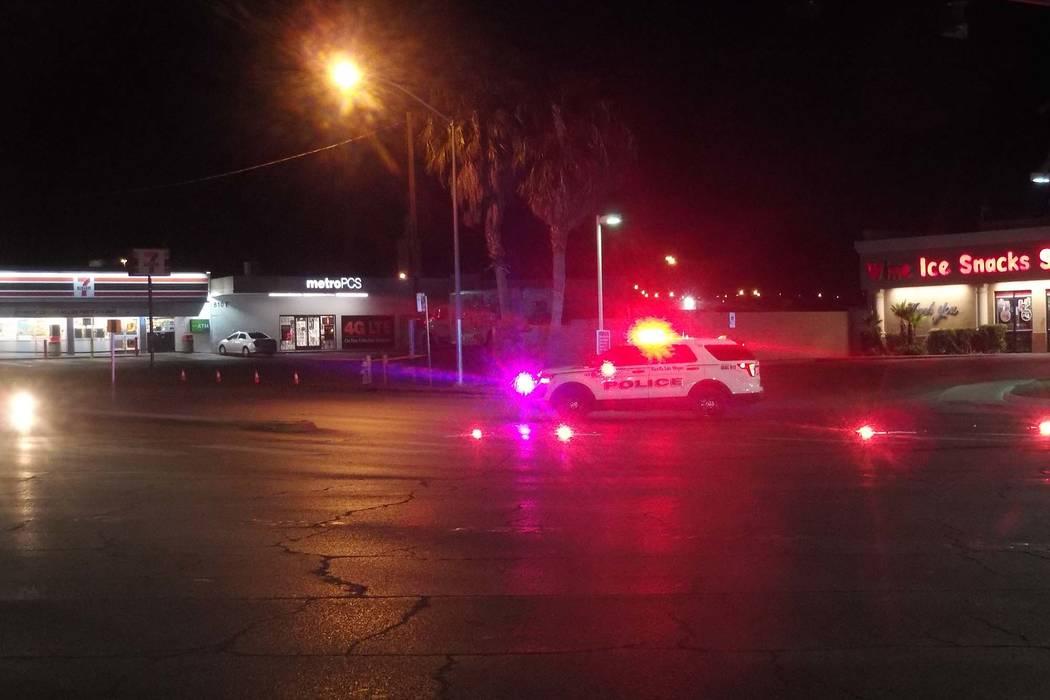 Pedestrian dragged halfmile in Vegas