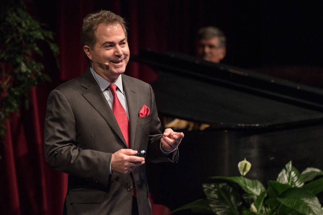 """UNLV President Len Jessup said Wednesday that media reports of his ouster are untrue, but he has told Nevada System of Higher Education Chancellor Thom Reilly that he will """"begin looking at o ..."""