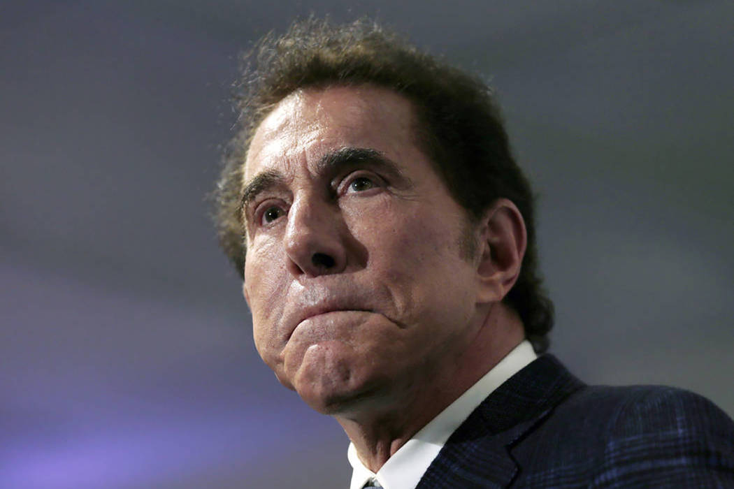 Casino mogul Steve Wynn is seen at a news conference in Medford, Mass., in 2016. (Charles Krupa/AP, File)