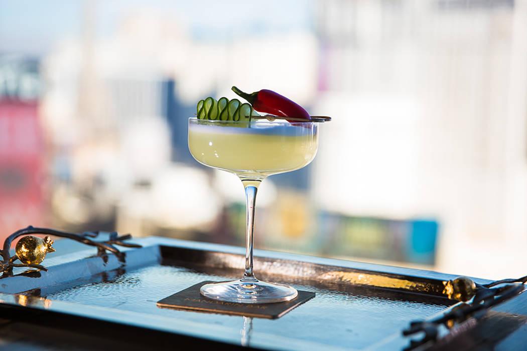 Mandarin Bar's El Conquistador cocktail (Ray Alamo)