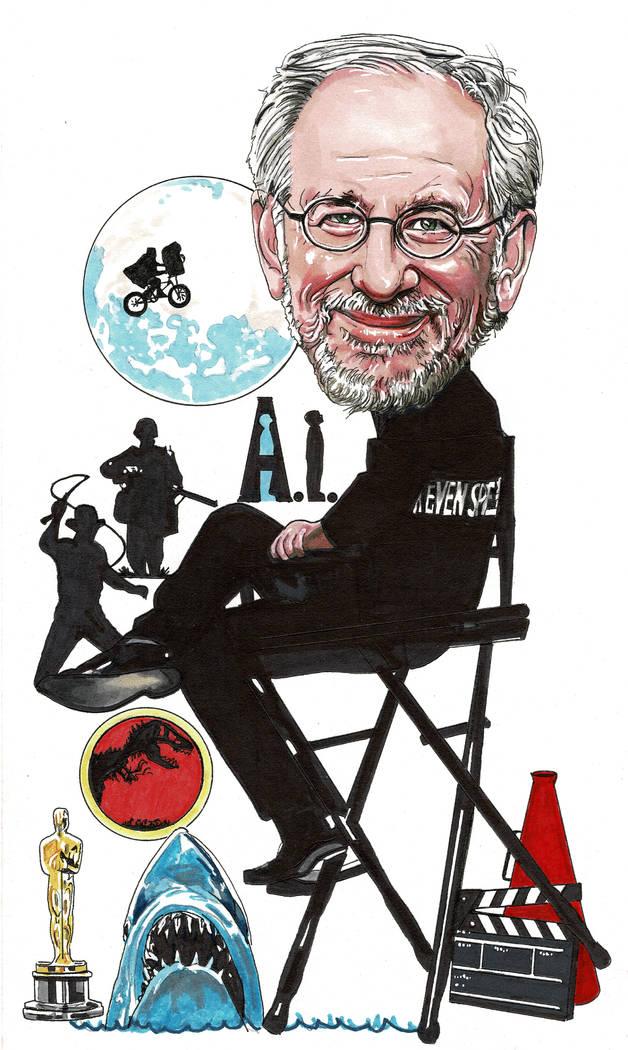 Steven Spielberg (Illustration by Neil Portnoy)