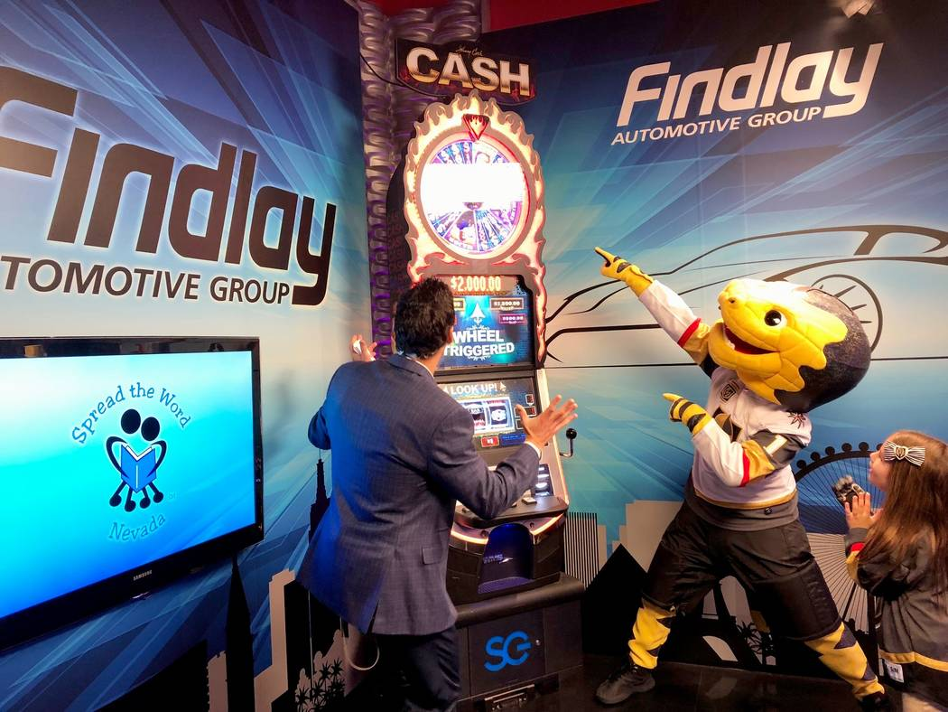 Findlay The KVVU-TV, Channel 5 Spin Zone sponsored by Findlay Automotive Group has generated more than $200,000 for Southern Nevada charities.