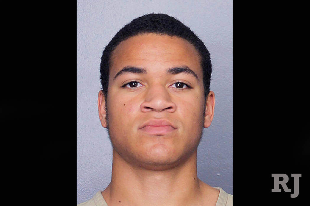 This undated photo released by the Broward Sheriff's Office shows Zachary Cruz. Cruz, the brother of Nikolas Cruz charged with killing 17 people at Marjory Stoneman Douglas High School, was arrest ...