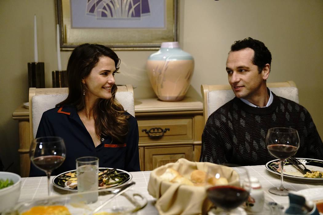 "Keri Russell as Elizabeth Jennings and Matthew Rhys as Philip Jennings in ""The Americans."" (Patrick Harbron/FX)"