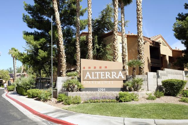 The 192-unit Alterra Apartments at 2701 N. Decatur Blvd. Ulf Buchholz/Las Vegas Business Press