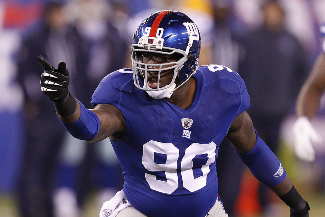 The New York Giants on Thursday traded Jason Pierre-Paul to the Tampa Bay Buccaneers for draft picks, (Agencia)