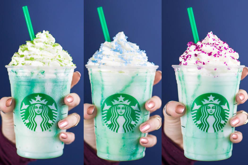 Starbucks Crystal Ball Frappuccino (Courtesy Starbucks)