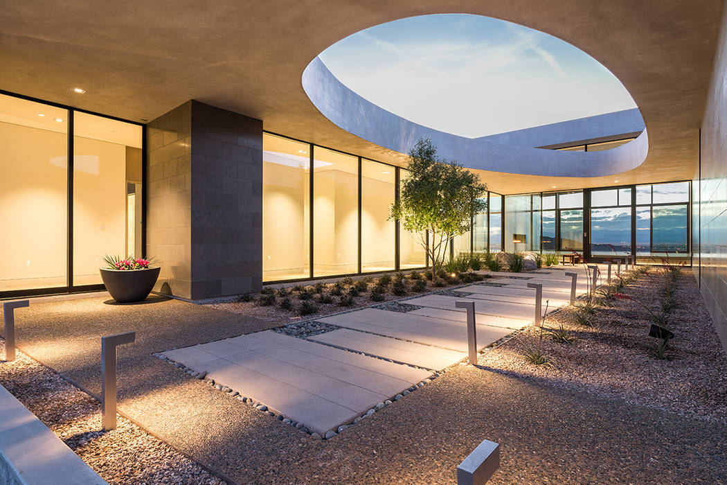 Ascaya Las Vegas architect C.J. Hoogland created Cloud Chaser as one of Ascaya's inspirational homes.