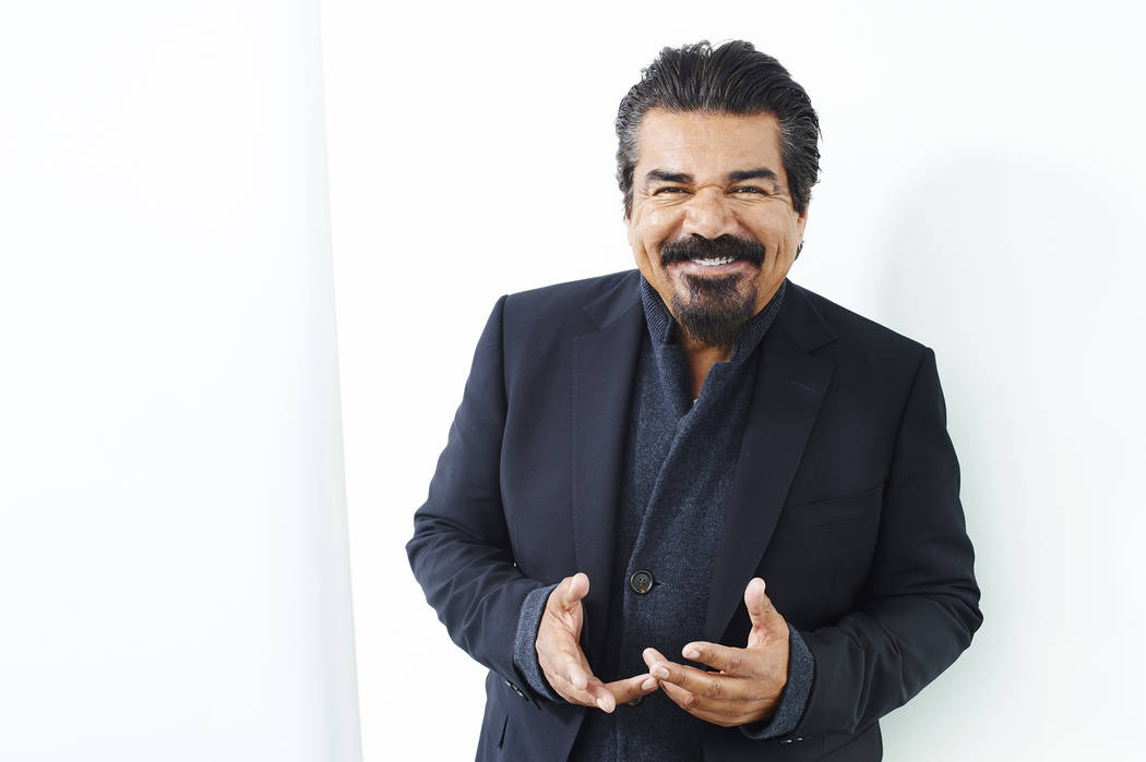 In this Thursday, March 31, 2016 photo, comic George Lopez poses for a portrait in New York. (Photo by Scott Gries/Invision/AP)