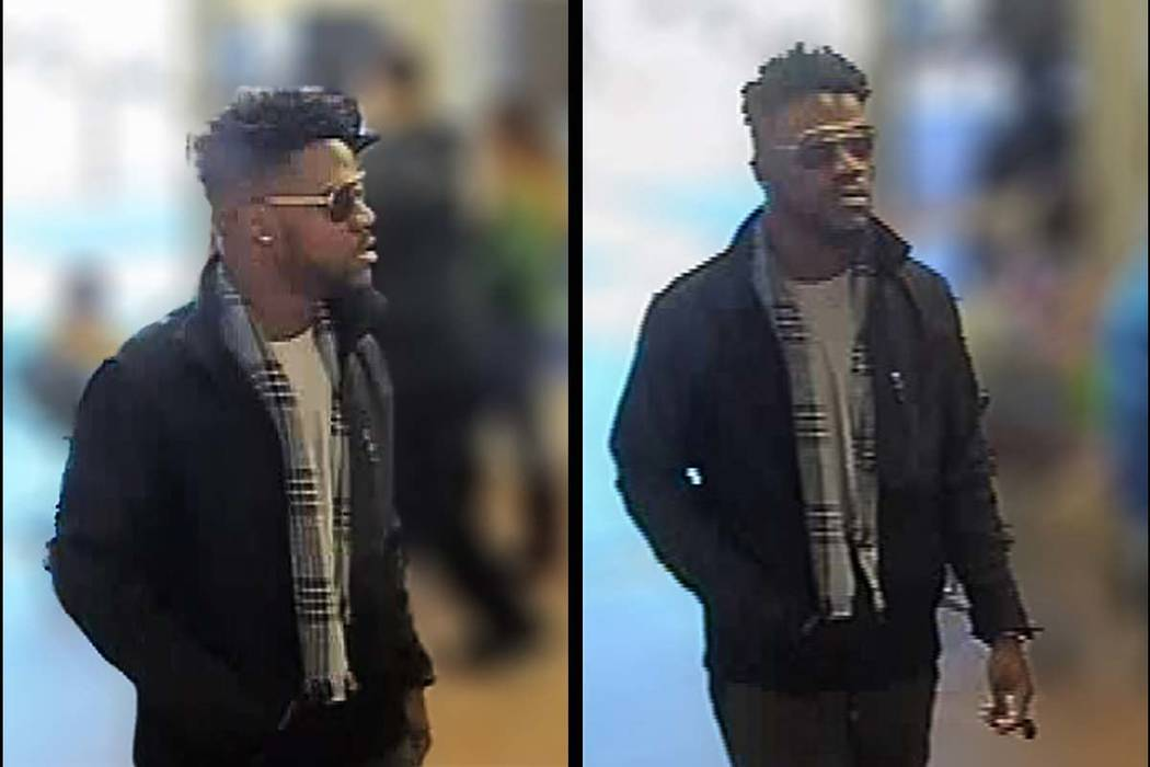 North Las Vegas homicide detectives are looking for this man, a person of interest in a December triple homicide. (North Las Vegas Police Department)