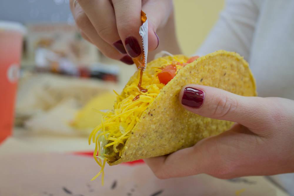 The Del Taco. Del Taco