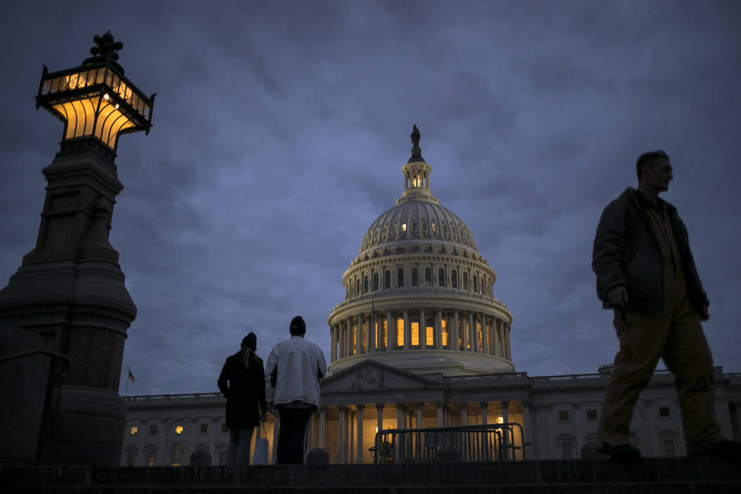 The U.S. Capitol. (AP Photo/J. Scott Applewhite, File)