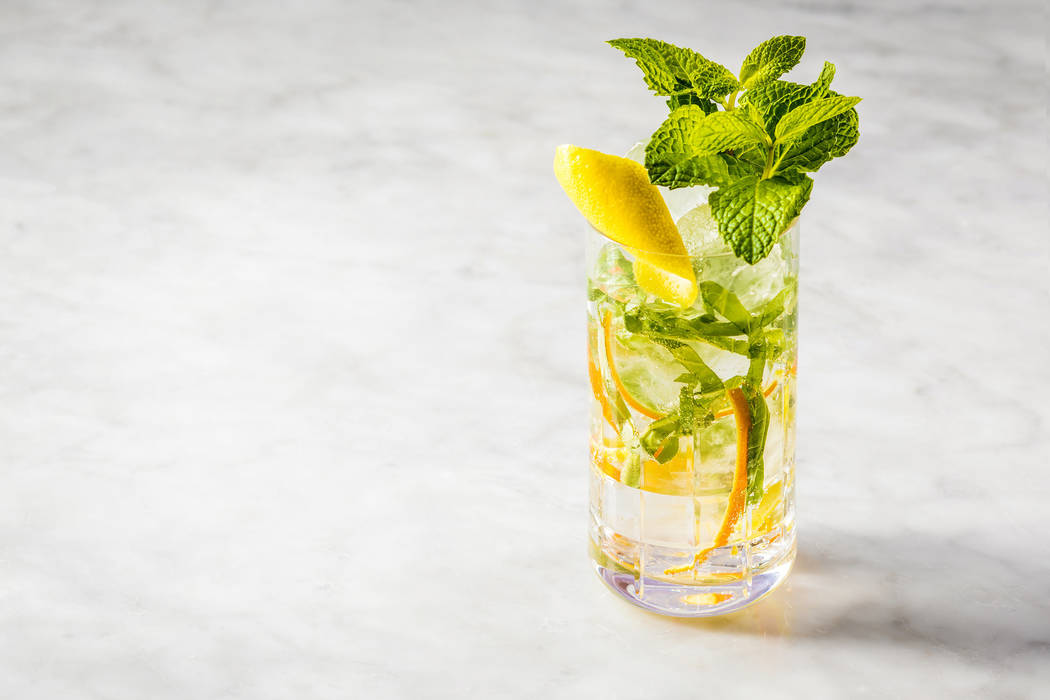 Orange cocktail (Anthony Mair/MGM Resorts International)